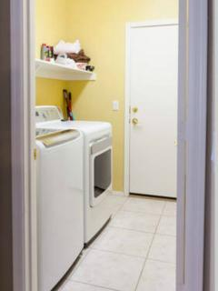 Full size high efficiency clothes washer and dryer