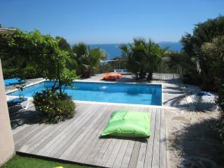 grande villa vue mer et piscine, Le Lavandou