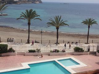 First Line Beach Front Sea View Apartment, Ibiza Ciudad