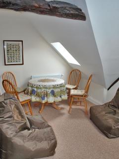 Mezzanine Living area