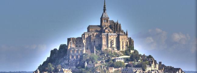 Mont Saint-Michel is a must see and only 1hr 20mins by car!