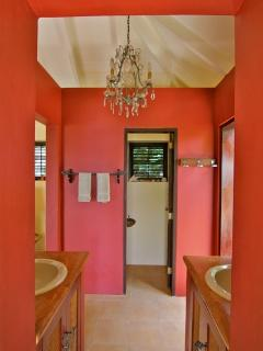 African Master Bathroom