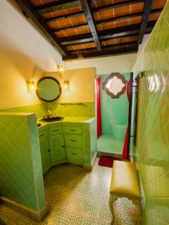 The upstairs Master bathroom.