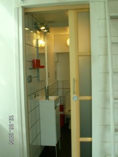 porte accés salle de bains