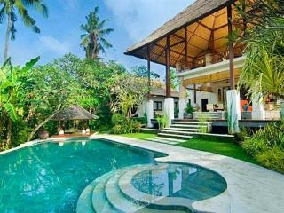 3 bedrooms villa in north Sanur close to surfing beach, free car&driver