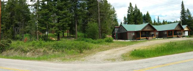 Our property and part of the forest service land