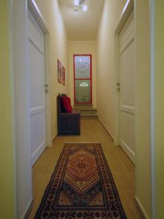 spazio comune e accesso alla cucina/terrazzo