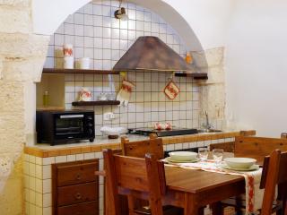 Dettaglio della cucina.