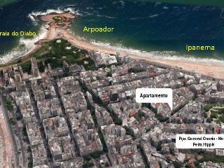 Ipanema cerca de la playa - 107, Rio de Janeiro