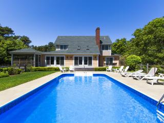 REINJ - Gorgeous Katama Home, Heated Pool,  Large Private Pool Patio and Landscaped  Yard,  Screened Porch and Expansive Deck, Located Just one mile to South Beach, Edgartown
