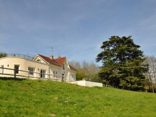 House set in 50 acres of meadows and woodland