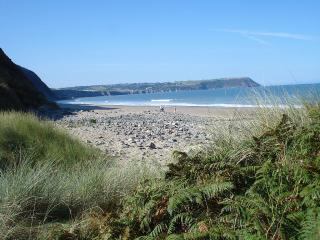 Pretty, peaceful location close to Tresaith beach