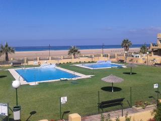 Apartamento en primerísima línea de playa, Tarifa