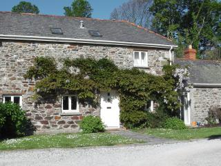Front of the property with private parking