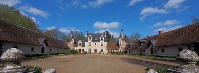 Chateau facade Francois 1er