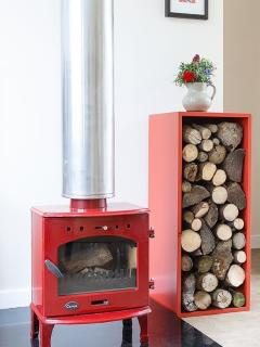 Stay warm beside 'Little Red'