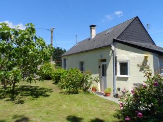 Peaceful detached cottage, countryside views, Mantilly