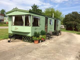 Static holiday caravan, Shobdon