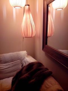 detalle iluminación salón