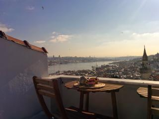 Panoramic Golden Horn view (rare !), Istanbul