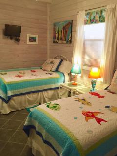 Full and Twin Bedroom.