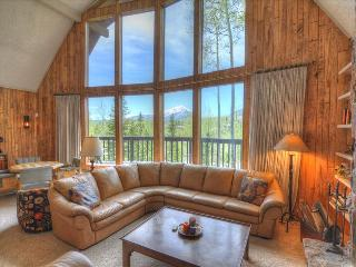 WILDFLOWERS CHALET: 3 Bed/2.5 Bath Home, Mountain Views, World Class Skiing Nearby, W/D, Indoor HT, Silverthorne
