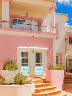 Sunloungers on Terrace Casa Bela