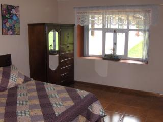 Bedroom with a view of the El Chorro waterfall
