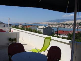 Apartment  Bi-PI , No3,   island Pag, Croatia
