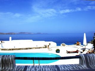 Mykonos Ornos Luxury VILLA Pool Sea view Slp 7