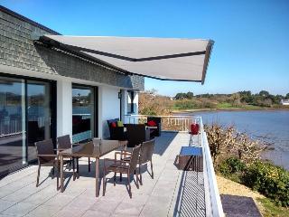 Maison 12 pers: terrasse vue sur Golfe du Morbihan, Baden