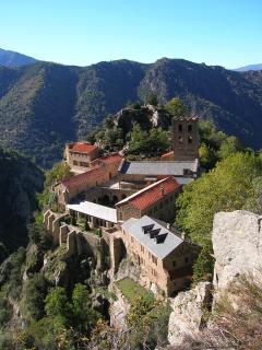 St Martin de Canigou, active monastery open for retreats and visits