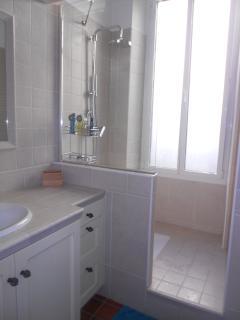 salle d'eau avec douche italienne (1er étage)