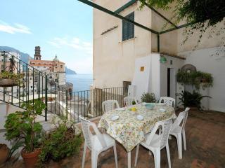 La Romantica - terrace and sea view, Atrani