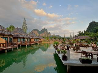 Superb villa at lake and rock Krabi, Ao Nang