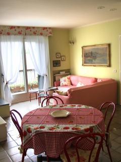 table on the livingroom