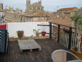 jolie duplex de 60 m² est son toit terrasse privé, Narbonne