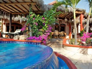 Beach front Mexican villa