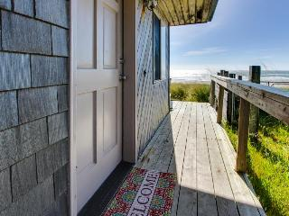 Newly remodeled, oceanfront home w/ocean views, close to sand!