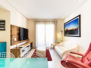 Charming 1 Bedroom Apartment in Itaim Bibi, São Paulo
