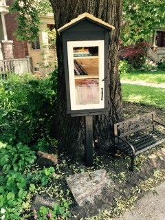 Our own registered Little Library.  Take a book, leave a book.