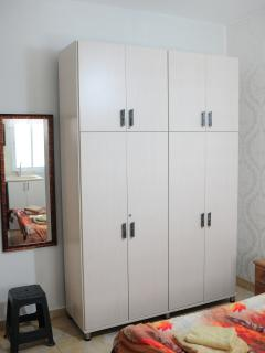 Big Studio Cupboard and Body Mirror