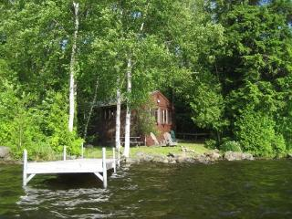 #149 Cottage on water`s edge with view of Big Moose Mountain!