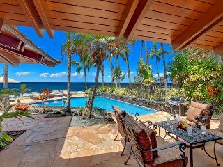 Ho`o Walea - Elegant 3 Bedroom Ocean Front Villa with a Pool, Poipu