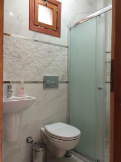 Bathrooms are renewed