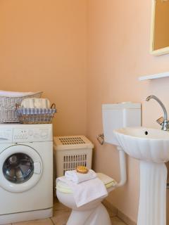 Bathroom and washing machine
