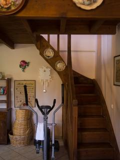 Stairs to go to the loft