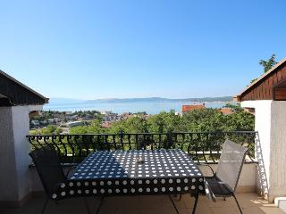 Zuppy 2 for 5 with a stunning seaview, Crikvenica