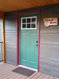 Door to Trout Run