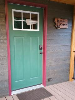 Front door of Moose Creek
